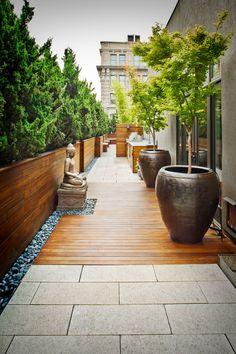 georgianadesign: 'Crosby Street Rooftop.' Gunn Landscape...