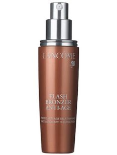 Lancôme Flash Bronzer Anti-Age Tinted Anti-Age Self-Tanning Face Lotion SPF 15 Sunscreen