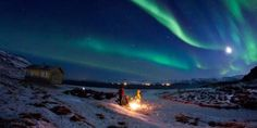 Hammerfest An inspiring image of the Northern Lights and the beauty they hold. I wish I was there to see them!