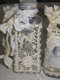 Wayside Treasures: More altered bottle fun...this would a good Super Saturday project for R.S.