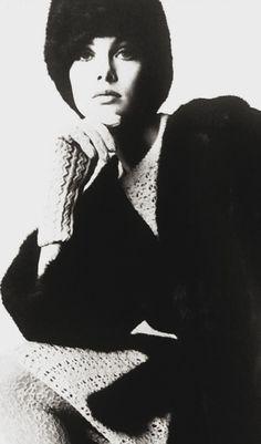 Jean Shrimpton em Queen novembro 1964 fotografada por David Montgomery Graças Jane Davis