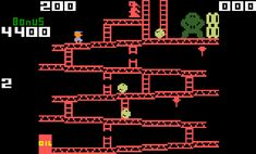 Donkey Kong -my grand parents had an old computer in basement and this was the only game on it.