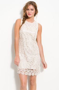 50% off this super cute lace dress at Nordstrom! Only $33.90! Get your coupon code here http://cpn.cd/wPlLBf