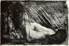 Edvard Munch The Secret