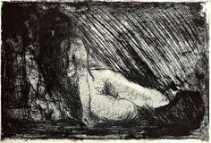 Edvard Munch The Secret
