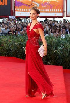 Natalie Portman in Rodarte (Venice 2010)