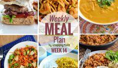 Slimming Eats Weekly Meal Plan - Week 14
