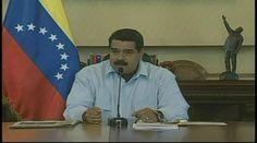 El presidente Nicolás Maduro en el Palacio de Miraflores en una reunión de la vicepresidencia social | Captura de pantalla