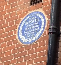 James Boswell, Great Portland Street, London, W1