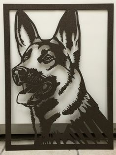 Large German Shepherd or Australian Shepherd Head - Plasma Cut Metal Sign tall x wide Large German Shepherd, Australian Shepherd, Metal Tree Wall Art, Metal Artwork, Metal Projects, Metal Crafts, Corte Plasma, Plasma Cutter Art, Modelos 3d