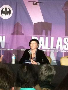 Melissa McBride at Dallas Comic Con 2015