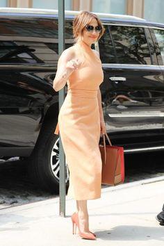 Jennifer Lopez Photos - Stars Perform on the Set of 'Shades of Blue' - Zimbio