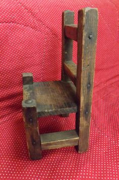 Vintage Doll Size Chair_Primitive Doll by GoldenBeeAntiques, $25.00