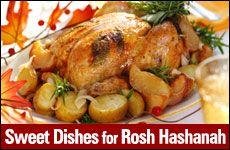 Sweet Dishes for Rosh Hashanah