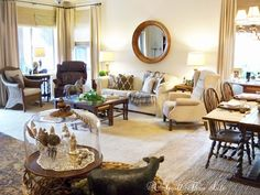 A Stroll Thru Life: Family Room Reveal