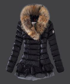 ee2129ccfdd1 Moncler Women Down Jacket Single Breasted Lace Black! Only  278.9USD Men s.  Men s JacketsJackets For ...