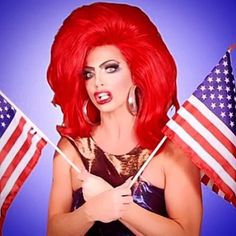 O'er The Land Of The Free and The Home Of The Brave! Happy 4th Of July Folks #living #AlyssaSecret #proud @wowreport @logotv