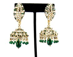 Checkout our #awesome product Imitation Designer Victorian Zhumka Bollywood Earring / AZERVE4003-GGR - Imitation Designer Victorian Zhumka Bollywood Earring / AZERVE4003-GGR - Price: $95.00. Buy now at http://www.arrascreations.com/imitation-designer-victorian-zhumka-bollywood-earring-azerve4003-ggr.html