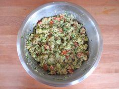 Quinoa Avocado Tabbouleh - Healthy Gluten Free Recipe