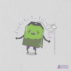 EL Increíble Té Verde by Wawawiwa Desing