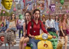 Surreal and Strange Paintings by Alex Gross