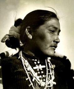 Zonie, a Navajo woman. Ganado, Ariz., 1926.