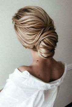 33 Wedding Hairstyles For Medium Length Hair ❤ wedding hairstyles medium hair . <img> 33 Wedding Hairstyles For Medium Length Hair ❤ wedding hairstyles medium hair textured twisted low bun verafursova - Easy Updos For Medium Hair, Wedding Hairstyles For Medium Hair, All Hairstyles, Medium Bob Hairstyles, Trending Hairstyles, Medium Hair Styles, Natural Hair Styles, Short Hair Styles, Hairstyle Ideas