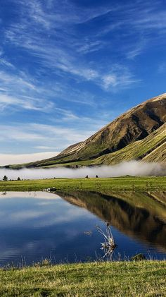 Free Scenery Wallpaper – Includes Lake Coleridge New Zealand, What a Wonderful Scene! New Zealand Lakes, New Zealand Travel, Places Around The World, Oh The Places You'll Go, Places To Visit, Snorkeling, Canterbury New Zealand, Magic Places, New Zealand Landscape