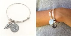 Gift idea! $7.89 - Best Selling Initial Bangles + 2 FREE Dangles! - http://www.pinchingyourpennies.com/gift-idea-7-89-best-selling-initial-bangles-2-free-dangles/ #Banglebracelet, #Jane