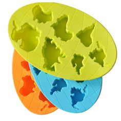 Continents Mold Silicone Mold Cooking Tools Cookie Cutter Ice Molds Ice Trays Ice Cream Tools Ice Cube Tray Silicone Tools