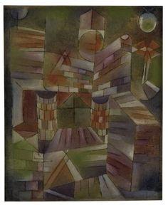 Paul Klee : Knowledge. Big building. Small window