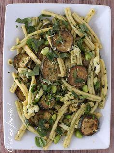 C'est ma fournée !: La salade de pâtes aux courgettes d'Ottolenghi