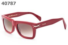 704f458ca71 Celine Sunglasses 41046 Plastic red frame