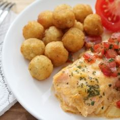 Baked Salmon with Mustard - A delicious and easy to make salmon recipe.