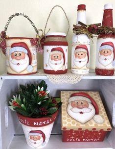 Elf Christmas Decorations, Diy Christmas Tree, Primitive Christmas, Christmas Love, Christmas Signs, Winter Christmas, Christmas Ornaments, Wine Bottle Crafts, Mason Jar Crafts