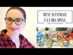 Pianificare ed organizzare pasti e menu della settimana - YouTube