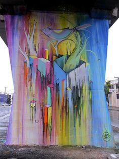 Nove Street Art in Sao Paulo, Brasil