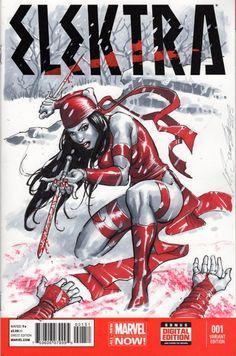 Elektra by Marco Santucci