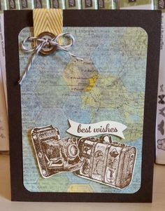 Best Wishes Stampin' Up!  Traveler