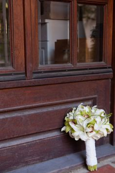 Beautiful and traditional wedding bouquet. #weddingflowers #bridebouquet  Photo by RomaBea Images
