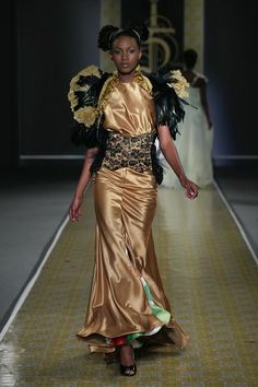 """The Designs of David Tlale - Funky Fashions - Chocolate Catwalk - FUNK GUMBO RADIO: http://www.live365.com/stations/sirhobson and """"Like"""" us at: https://www.facebook.com/FUNKGUMBORADIO"""