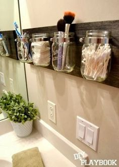 DIY Supplies & Accessories: Are you bored of how your bathroom is organized…
