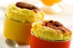 Soufflé de vainilla y mango con maracuyá - revistamaru.com