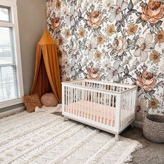 Baby Room Design, Baby Room Decor, Nursery Room, Baby Girl Nursery Themes, Baby Nursery Themes, Nursery Ideas, Nursery Decor, Hippie Nursery, Bohemian Nursery