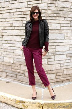 What I Wore: Very Berry