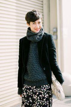 Violaine Bernard velours magazine | violaine bernard fashion director velour magazine after jason wu nyc ...