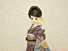 ジェニー 着物,ドール 和服,人形 訪問着