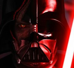 Darth Vader ...A crack in the armor, a splinter in The Dark Side.