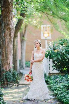 north carolina bridal portraits