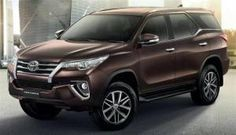 Upcoming New Toyota Fortuner 2016